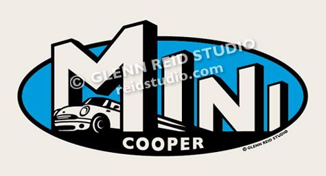 glenn reid studio logo design rh reidstudio com mini cooper logo dog collar mini cooper logo dog collar